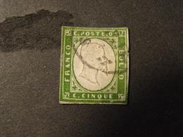 ITALIE  SARDAIGNE 1855-61 Abimé - Sardaigne