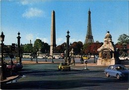 Paris - La Place De La Concorde - Plätze