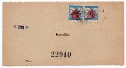 1920 KINGDOM SHS,YUGOSLAVIA, SLOVENIA, VERIGARI POSTAGE DUE STAMPS, GORENJA VAS, MONEY ORDER - Postage Due