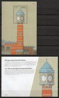 SPOORWEG 2012 // 2 GETAND PERFOR GENUMMERD BLOCK EN OMSLAG CHEMIN DE FER NEUF // NIEUW // NEU - Chemins De Fer