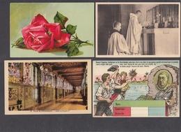 LT50/ THEMES ET FANTAISIES, Lot De 400 Cartes, 300 Format 10/15 Et 100 Format 14/9 (dont Un Carnet) - 100 - 499 Postcards