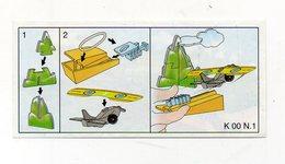 Componibili KINDER - 2000 - Cartina Nr. 1 - (FDC15674) - Istruzioni