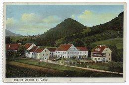1910s  SLOVENIA, TOPLICE DOBRNA, CELJE, MINT ILLUSTRATED POSTCARD, NOT USED - Slovenia