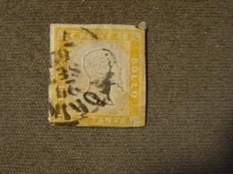 ITALIE   ETAT De SARDAIGNE 1855-61 Orange 80 Ct - Sardaigne