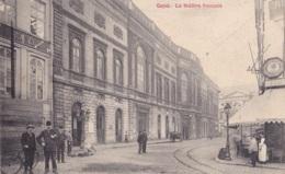 Gand Le Théâtre Français Circulée En 1910 - Gent