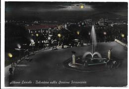 Albano Laziale (Roma). Belvedere Sulla Stazione Ferroviaria. - Roma