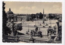 ROMA, PIAZZA DEL POPOLO, The People's Square, Unused Postcard [23227] - Roma (Rome)