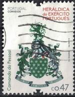 Portugal 2016 Oblitéré Used Heráldica Do Exército Héraldique De L'armée SU - 1910-... République