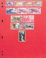 TOGO - Ancienne Colonie Française Collection Timbres Neufs Et Oblitérés Avec Et Sans Charnières Dont PA N°23 - Timbres