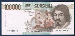 BILLET DE BANQUE D'ITALIE 100 000 LIRES 1er Septembre1983 N° EA 485985 F état SUP - [ 2] 1946-… : Republiek