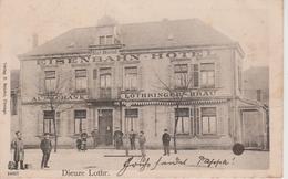 57 - DIEUZE - HOTEL DE LA GARE - LOTHRINGER BRAU - KARL BÜRKEL - Dieuze