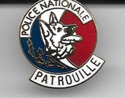 Pins Police Nationale Chien De Patrouille Parfait état - Polizei