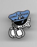 Pins CU Cergy Pontoise Brigade E Parfait état - Polizei