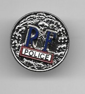 Pins Plaque Police  Parfait état - Policia