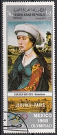 "Yemen 1968 YAR Mi. 862 ""Maddalena"" Quadro Dipinto G. Van Der Weyden Painting Olimpiadi Mexico  Museo Louvre Paris - Yemen"