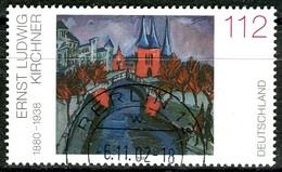 BRD - Mi 2279 - OO Gestempelt (A) - 112C     Gemälde Ernst Ludwig Kirchner - Gebruikt