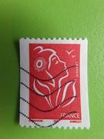 Timbre France YT 3743 - Marianne De Lamouche - LP Rouge - Non Dentelé - 2005 - 2004-08 Marianne Of Lamouche