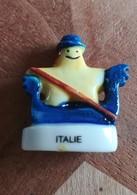 ITALIE - EUROPE ETOILEE - FEVE BRILLANTE - Countries
