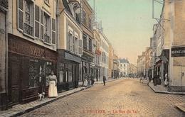 PROVINS  - La Rue Du Val ( Animation ,commerces  ) - Provins