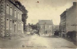 Wasseiges Centre Du Village (souillée) Edit.léonard Pirson AD. Delhaize 1909 - Wasseiges