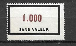 FRANCE FICTIF N°F128**  Mnh   Sans Charnière - Fictifs