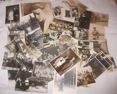 N. 37 FOTO FORMATI VARI PROVENIENTI DA LOTTO FAM. BERTI /LEONESSA RIJEKA REKA RIEKA FIUME FUNERALI POGREB GROBLJE - Altri