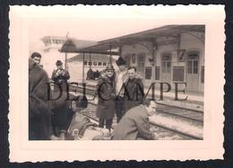 REAL PHOTO PORTUGAL ESTAÇÃO DE CAMINHOS DE FERRO DA PAMPILHOSA - 1960'S (É UMA FOTO) - Coimbra