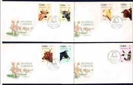 Cuba -1973 Complete FDC - FDC