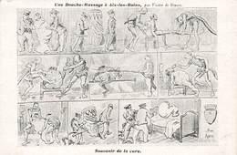 73 Aix Les Bains Une Douche Massage Souvenir De La Cure Par Victor De Stuers - Aix Les Bains