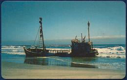 NAMIBIA - NAMIBIE TELECOM N$ 20 UNITS CHIP PHONECARD TELEPHONE CARD TELECARTE SHIP SEA VERY GOOD USED - Namibia
