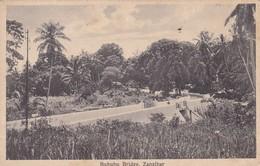 BUBUBU BRIDGE, ZANZIBAR. JB COUNTINHO. CPA CIRCA 1910s - BLEUP - Tanzanie