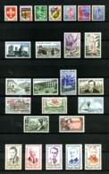 FRANCE - Annèe Complète 1960 - N° 1230 à 1280 - Neufs N** - Cote : 79 Euros  - Très Beaux - France