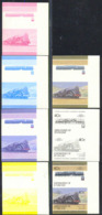 ST. VINCENT (1985) C.F.A. Class 231-132BT 4-6-2 + 2-6-4 1936 Algeria. Set Of 7 Progressive Proof Pairs. Scott No 310 - Trains
