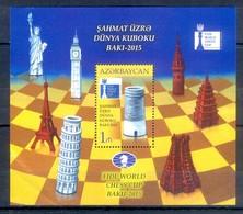 D1- Azerbaijan Aserbaidschan 2015 Chess World Cup Baku. - Azerbaïjan