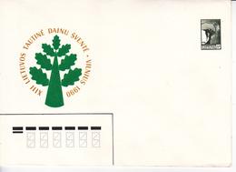 Lituanie   Lietuva 1990  Pre-paid Envelope - Lithuania