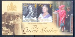 D4- South Georgia 2002 In The Memory Of The Queen Mother Elizabeth. - Georgien