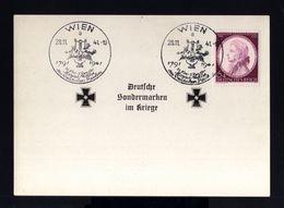 5952-GERMAN EMPIRE-MILITARY PROPAGANDA POSTCARD GERMAN SPECIALTY MARKS IN WAR.1941.WWII.Wien.DEUTSCHES REICH.Carte - Allemagne