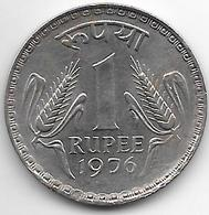 *india 1 Rupee 1976 C Km 78.2  UNC !!!! - Inde