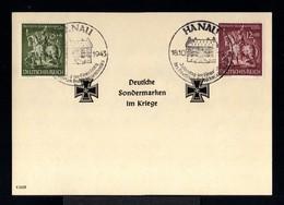 9441-GERMAN EMPIRE-MILITARY PROPAGANDA Sheet CARD GERMAN SPECIALTY MARKS IN WAR.1943.WWII.Hanau.DEUTSCHES REICH.Carte - Germany