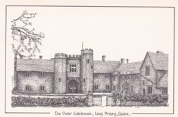 LEEZE PRIORY - THE OUTER GATEHOUSE - England