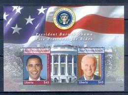 D14- Liberia Barack Hussein Obama 44th President Of USA. - Liberia