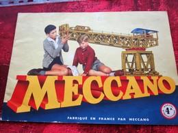 CATALOGUE N°4A INSTRUCTION POUR EMPLOI DES BOITES JEU DE CONSTRUCTION MECCANO  MECANIQUE EN  MINIATURE - Meccano
