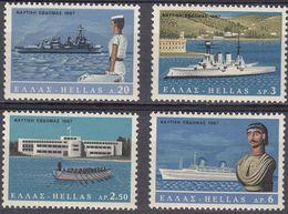 GRECIA - HELLAS - 1967 - Lotto Di 4 Valori Nuovi MNH: Yvert 928, 930/932. - Greece