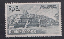 INDONESIA Scott # 516 MNH Single - Borobudur Temple - Indonesia
