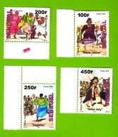 Senegal,2009- Dance Traditionnell- Full Set MintNH - Senegal (1960-...)