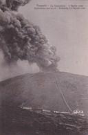 ITALY- VESUVIO. LA FUNICULARE APRILE 1906. ESPLOSIONE ORE 14.10, DISTRUTTA IL 6 APRILE 1906. EDIT P CORDOVA - BLEUP - Catastrofi