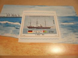 Miniature Sheet 1984 Togolaise Togo La Mowe 1884 Centenary - Togo (1960-...)
