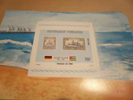 Miniature Sheet 1984 Togolaise Togo Emission 1900 1884 Centenary - Togo (1960-...)