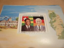 Miniature Sheet 1984 Togolaise Togo German Centenary 1884 - Togo (1960-...)