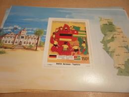 Miniature Sheet 1984 Togolaise Togo German Friendship Centenary - Togo (1960-...)